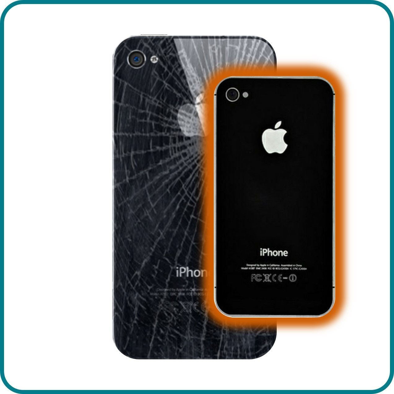 Cost to repair iphone 4 back glass